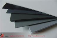 Tấm nhựa PVC màu ghi được sử dụng để làm gì