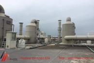 Một số dự án thi công tháp hấp thụ khí độc