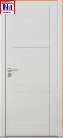 Cửa gỗ nhựa Composite sơn PU - 049