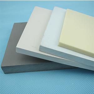 Tấm nhựa PVC trắng ngà