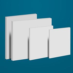 Tấm nhựa PVC màu trắng sữa làm bàn thao tác